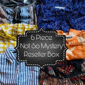 """6 Piece Not So Mystery Reseller Box """"Boho Vibes"""""""